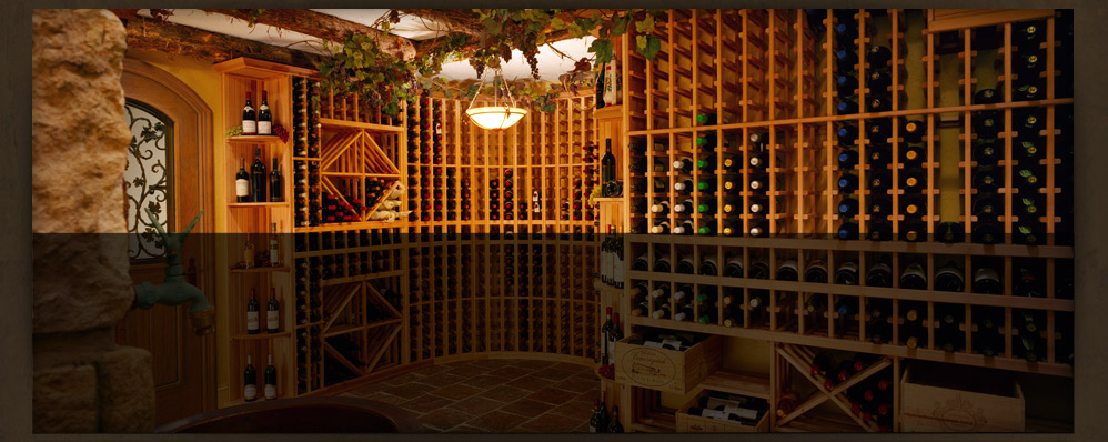 Wine Cellar Storage Room
